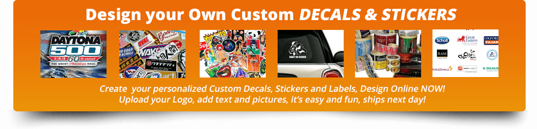 Design Your Decals