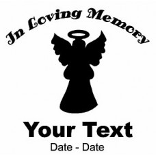 Angel Memory Decal
