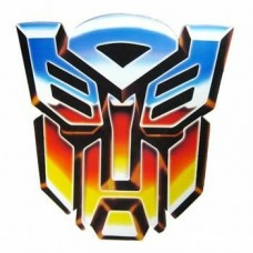 1454 - Color Transformer Autobot Decal