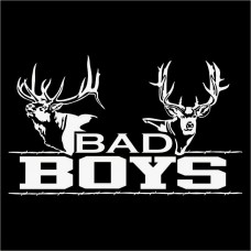 Bad Boys Hunting Decal
