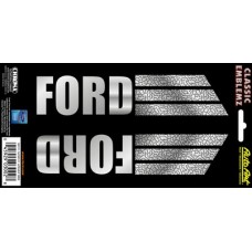 Embossed Ford Design Decal Strips