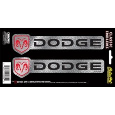 Embossed Dodge Decal Strips