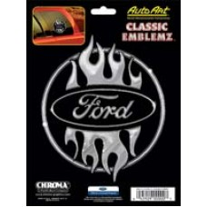 Embossed Ford Logo Decal