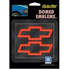 Domed Chevy Bowtie Decals PAIR