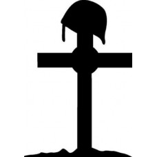 Army Cross Decal