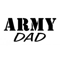Army Dad Military Sticker