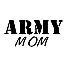 Army Mom Military Sticker