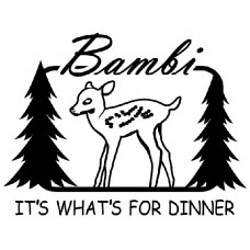 Bambi Vinyl Wall Decal
