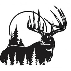 Big Buck Vinyl Hunting Decal