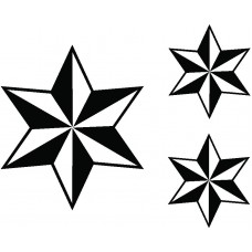 Star Wall Graphic Kit 3
