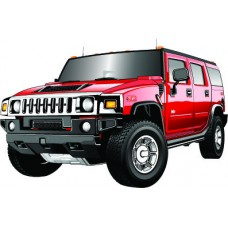 Hummer Wall Graphic
