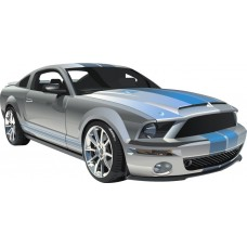 Mustang Wall Graphic