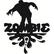 Got Zombie Wall Decal