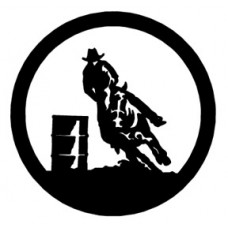 Barrel Racing Circle Decal