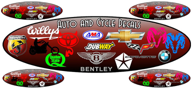Auto and Cycle Decal Banner